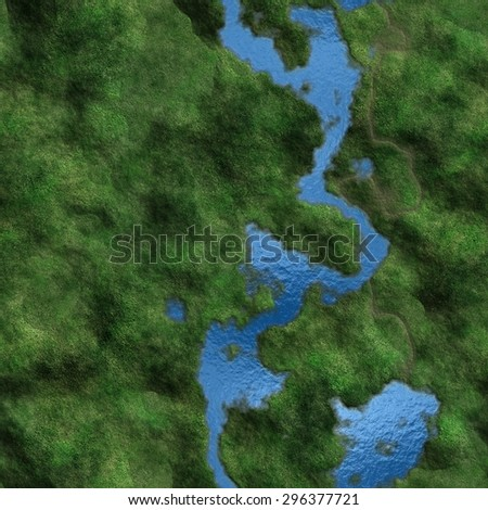 Texture Earth generated. Seamless pattern. - stock photo