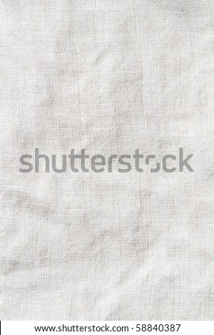 Texture flax. - stock photo
