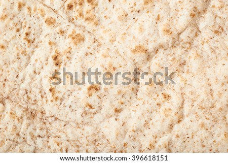 Texture fragment of a tortilla