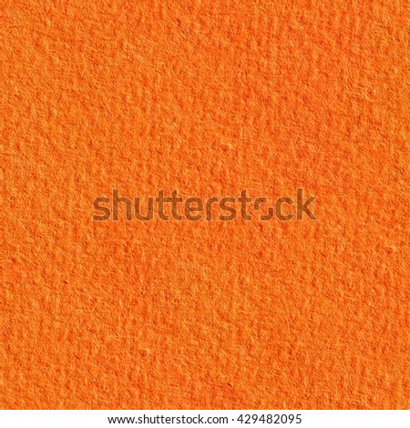 Texture from orange paper. Seamless square texture. Tile ready. - stock photo