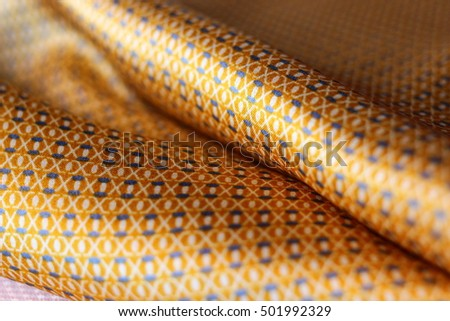 Texture gold satin, silk background
