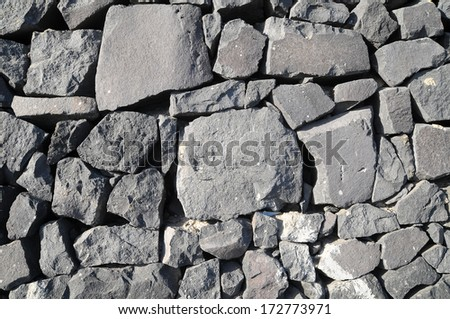 Rock Wall Texture Seamless Texture Gray Rock Ancient Wall