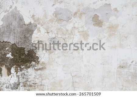 Texture Grunge background wall stucco crack - stock photo