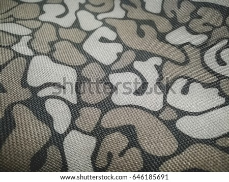 Texture is gecko pattern