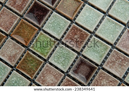 texture mosaic tiles texture mosaic bathroom to the kitchen floor and walls are used to repair the premises, structure design decor, color glass, stone. - stock photo