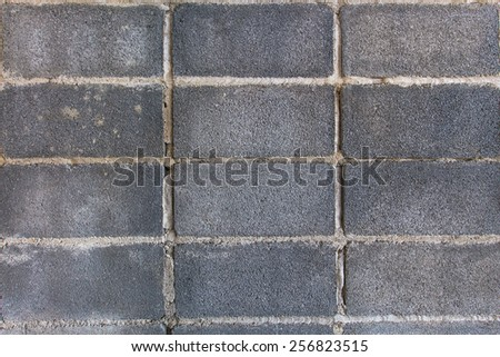 Texture of a brick wall, background for design - stock photo
