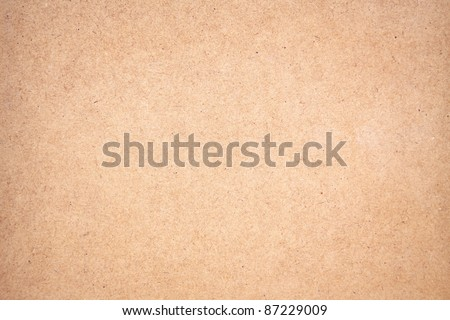 Texture of a brown panel with a soft vignetted - stock photo