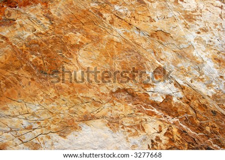 Texture of a brown stone