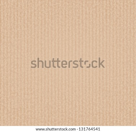 Texture of a brown striped paper background - stock photo