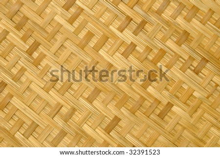 texture of a cane carpet