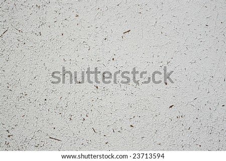 Texture of a cracked painting on an old wall - stock photo