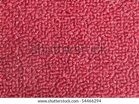 Texture of a maroon door mat - stock photo