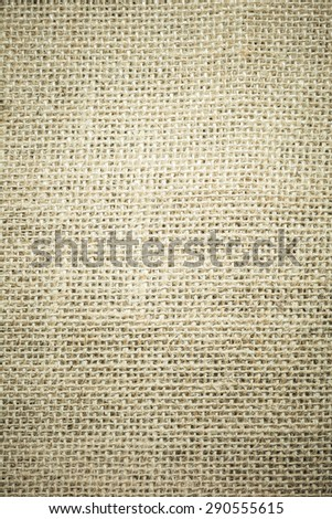 texture of a sack for background