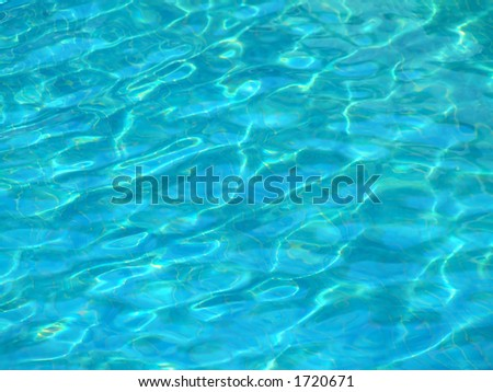 Texture of a water surface