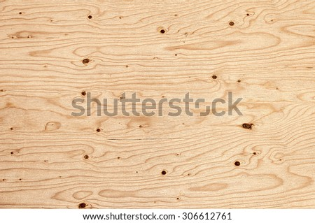 Texture of a wide plank - stock photo