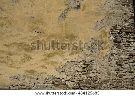 Texture of abstract Rough old wall background