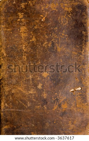 Texture of an antique book cover - stock photo