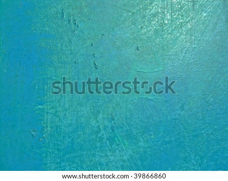 Texture of an metal, painted in blue color