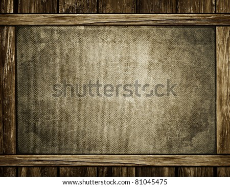 Texture of an old wall - stock photo
