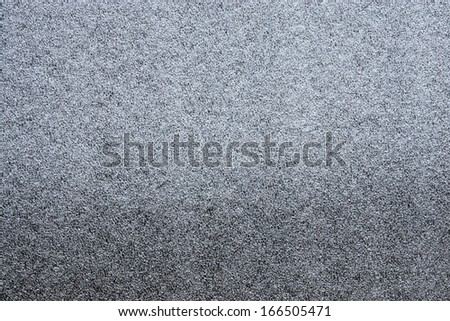 Texture of artificial synthetic silvery hoarfrost and ice for wallpaper and an abstract background - stock photo