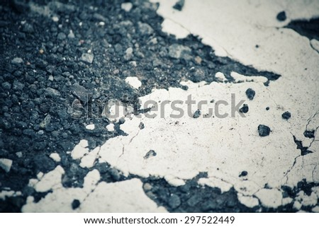 Texture of asphalt road