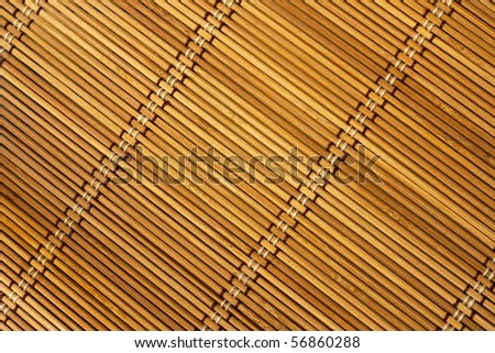 Texture of bamboo from tissue box - stock photo