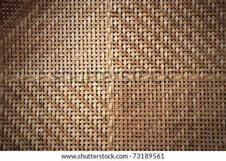 Texture of bamboo weave, can be used for background - stock photo