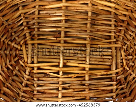 Texture of bamboo weave, rattan texture - stock photo