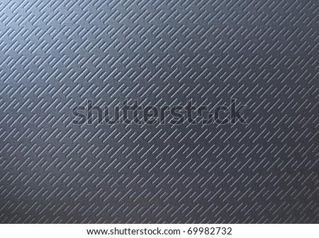 texture of black metal - stock photo
