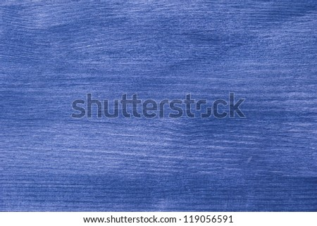 Texture of blue wooden board high detailed - stock photo