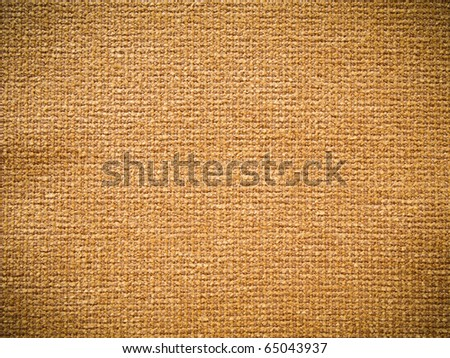 Texture of brown fabric for interior design - stock photo