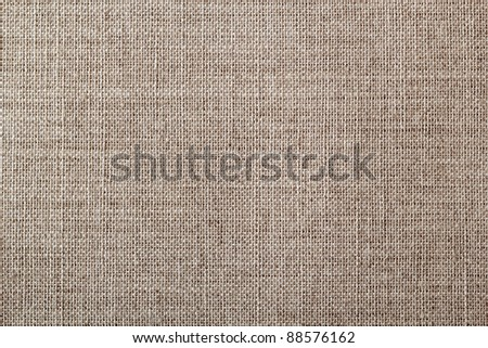 Texture of canvas - stock photo