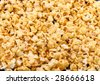 Texture of caramel popcorn. - stock photo