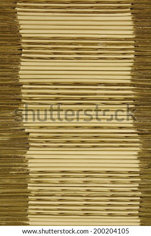 Texture of cardboard boxes stacked background - stock photo