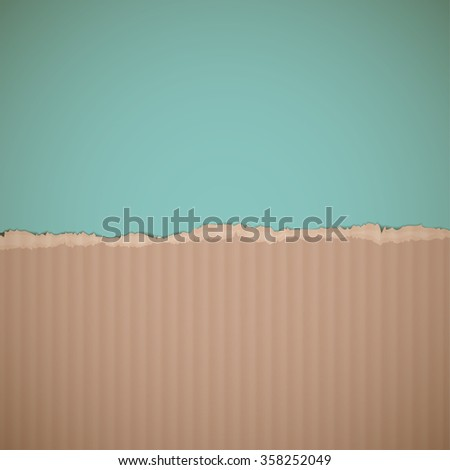 Texture of cardboard. Retro background. Stock illustration. - stock photo
