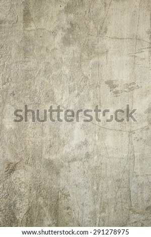 Texture of Cement wall with Cracks, Wallpaper, Background - stock photo