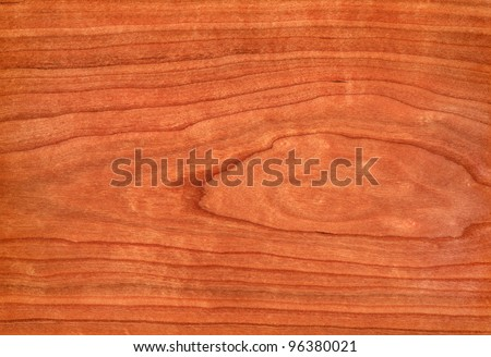 Texture of cherry (high-detailed wood texture series) - stock photo