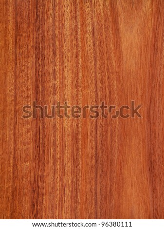 Texture of cherry mahogany (high-detailed wood texture series) - stock photo