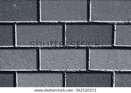 Texture of colored bricks - stock photo