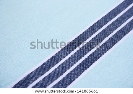 Texture of  cotton fabric as abstract background. - stock photo
