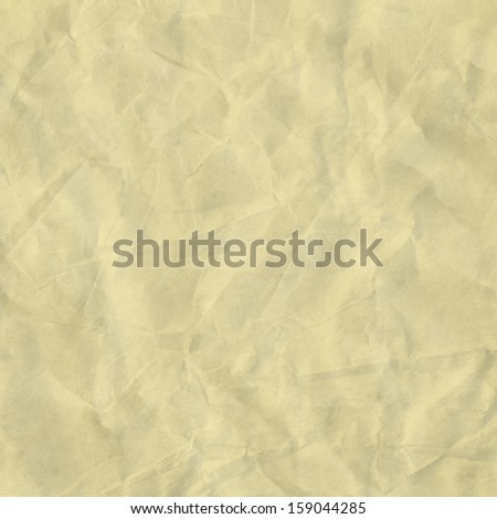 texture of crumpled paper - stock photo