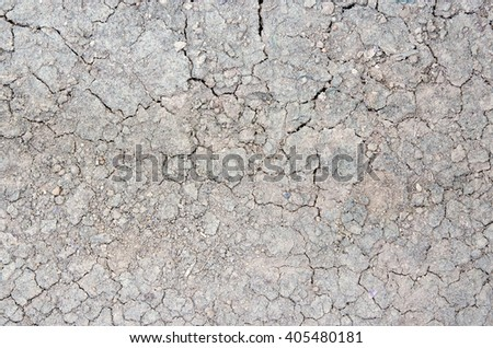 Texture of dirt and soil - stock photo