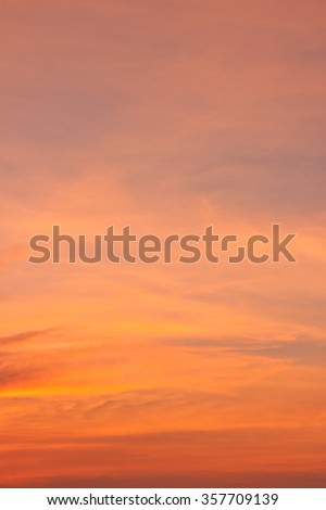 Texture of dramatic twilight cloudscape - stock photo