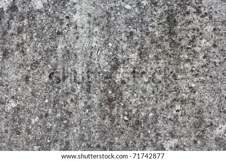 Texture of dust on neglected car hood - stock photo