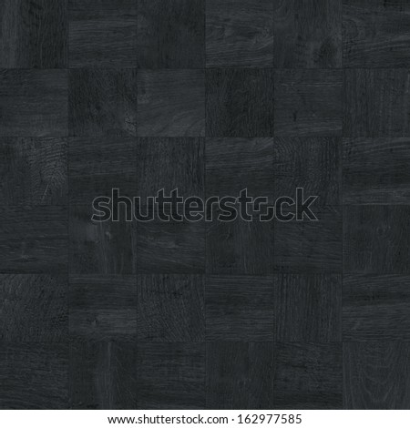 Texture of fine black parquet (High.Res.) - stock photo