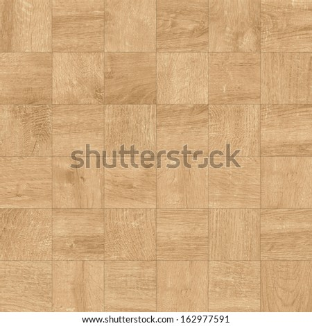Texture of fine light brown parquet (High.Res.) - stock photo