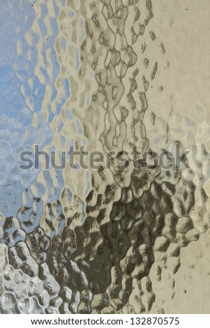 texture of frosted glass as background. - stock photo