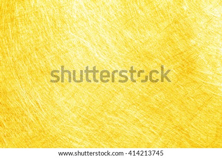Texture of gold material, close-up backgrounds - stock photo