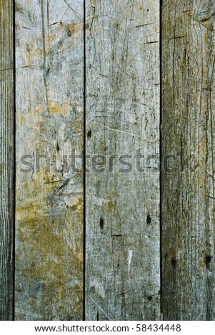 texture of gray boards - stock photo