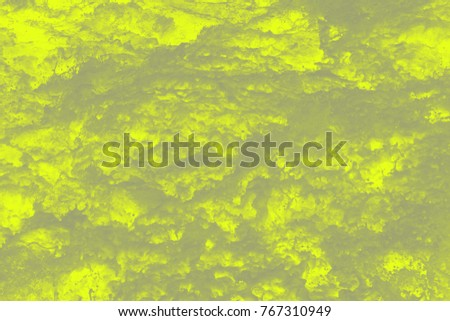 Texture of green watery stains
